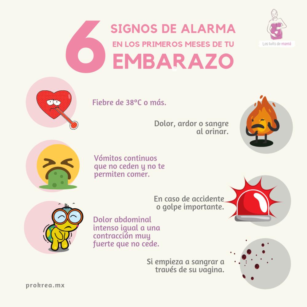 EMBARAZO RIESGO SINTOMAS BEBE